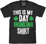 Novelty Promotional St Patty's Day Drinking Shirt Short Sleeve Tee