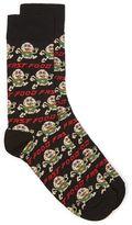 Topman Black Fast Food Socks