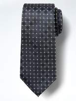 Banana Republic Circle Foulard Silk Nanotex® Tie