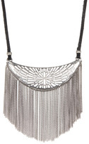 Lucky Brand Adjustable Fringe Necklace