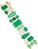 Irene Neuwirth 18K Chrysoprase & Moonstone Bracelet