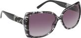 Rocawear Women's R3191 Animal Print Cat Eye Sunglasses