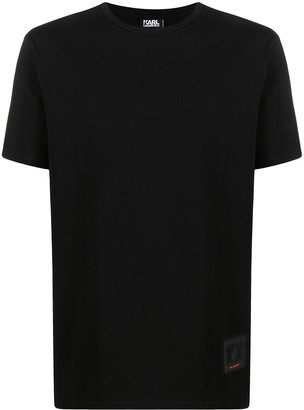 Karl Lagerfeld Paris logo patch T-shirt