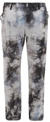 Nemen - Tie-dye Technical-shell Track Pants - Mens - Grey Multi