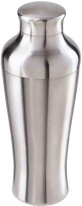 Oggi Slimline Silver-Tone Stainless Steel Cocktail Shaker