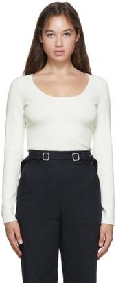 Proenza Schouler White Compact Knit T-Shirt