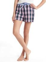 Gap Plaid sleep shorts