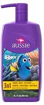 Aussie Coral Reef Cupcake 3 in 1 Shampoo + Conditioners & Body Wash 29.2 Fl Oz