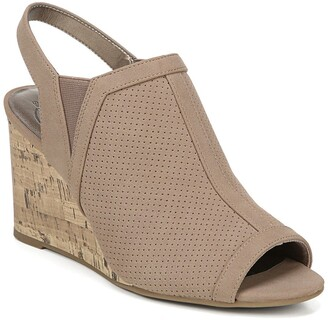 LifeStride Camilla Cork Wedge Bootie