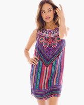 Chico's Nefertiti Swim Cover-up Dress