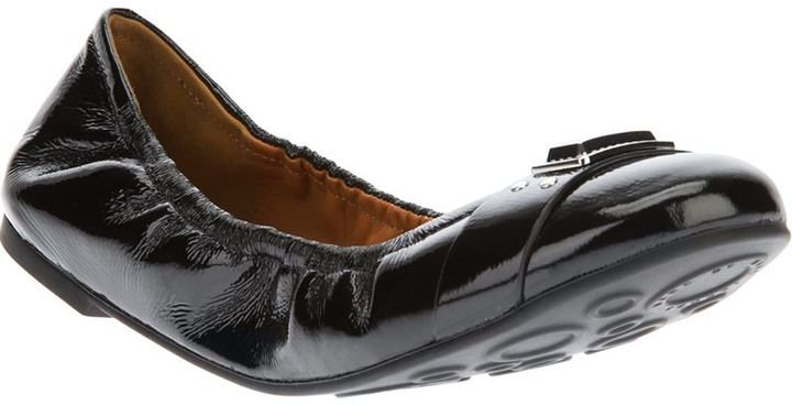Marc by Marc Jacobs branded ballerina shoe