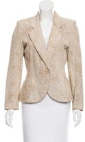 Ungaro Printed Notch-Lapel Blazer