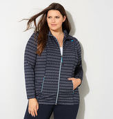 Avenue Jacquard Striped Active Jacket