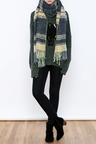 Free People Long Fringed Scarf