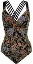 Miraclesuit Amoressa By Indochine Horizon Print One-Piece Swimsuit