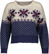 Etoile Isabel Marant Gillian intarsia alpaca-blend sweater