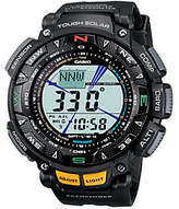 Casio Pathfinder Triple Sensor Multi Function Watch Black Ban