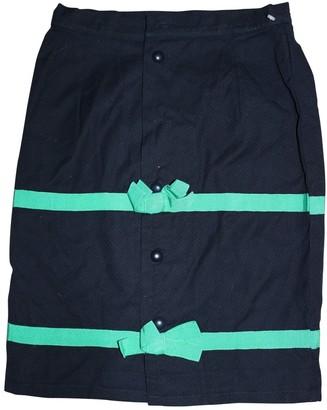 Balenciaga Blue Cotton Skirts