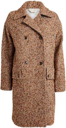 Samsoe & Samsoe Samsøe Samsøe Vibe Wool-Blend Tweed Coat