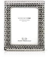 "Bloomingdale's Argento SC 5 x 7"" Chevron Frame"