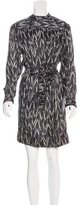 Isabel Marant Tribal Print Silk Dress w/ Tags