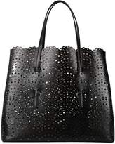 Alaia Leather Shopping Bag