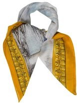 Moschino Multicolor Abstract Scarf