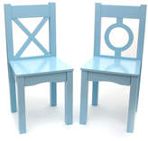 Lipper Light Blue Chair - Set of Two