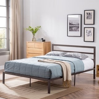 Christopher Knight Home Kellen Modern Iron Queen Bed Frame