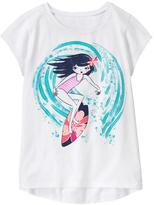 Gymboree Surfing Girl Tee