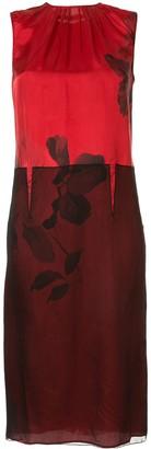 No.21 floral midi dress