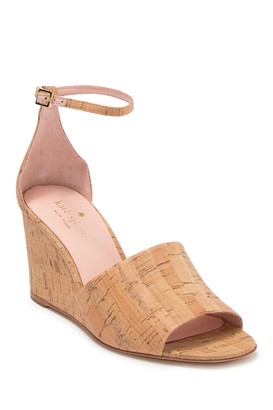 Kate Spade Lizzy Leather Wedge