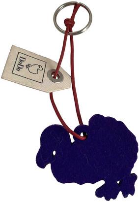 Dodo Pomellato Purple Leather Bag charms