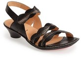 Think! Women's 'Soso' Leather Slingback Sandal