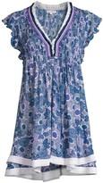 Poupette St Barth Sasha V-Neck Mini Dress