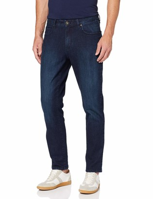 Izod Men's Saltwater Denim Dark WASH Straight Jeans