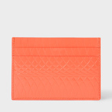 Paul Smith No.9 - Coral Patent Leather Card Holder