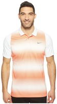 Tiger Woods Golf Apparel by Nike Nike Vl Max Sphere Stripe Polo