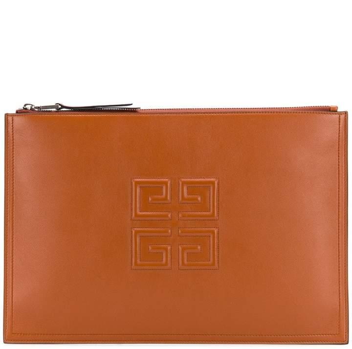 Givenchy 4G logo clutch bag