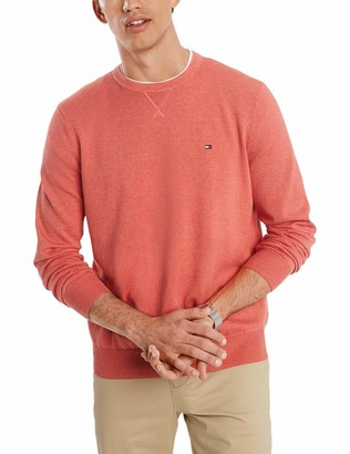 Tommy Hilfiger Men's Cotton Crew Neck Sweater