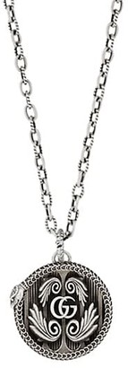 Gucci GG Marmont Sterling Silver Pendant Necklace