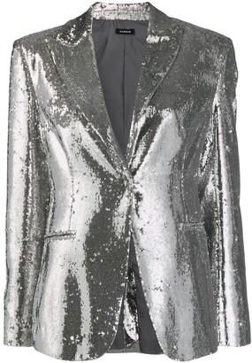 P.A.R.O.S.H. Pilled blazer
