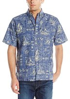 Reyn Spooner Men's Yachting Tapa Shirt