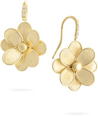 Marco Bicego Pateli Diamond Flower Drop Earrings