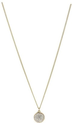 Pilgrim Heather Gold Plated Crystal Necklace