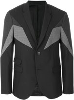 Neil Barrett symmetric tailored jacket