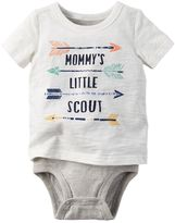 Carter's Baby Boy Graphic Mock-Layer Bodysuit