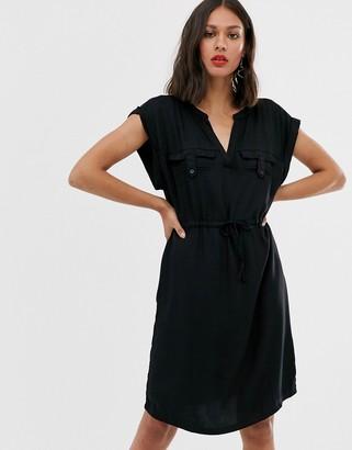 Only shirt dress-Black
