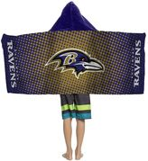 Youth Baltimore Ravens Hooded Beach Towel
