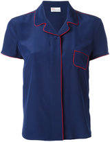 RED Valentino pyjama style blouse - women - Silk/Polyester - 42